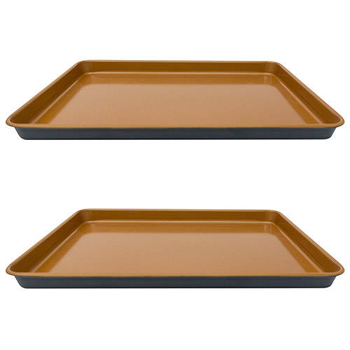 2 - Gotham Steel Cookie Sheets
